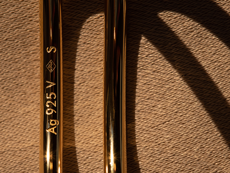 Bijoux en argent 926 et plaqué or
