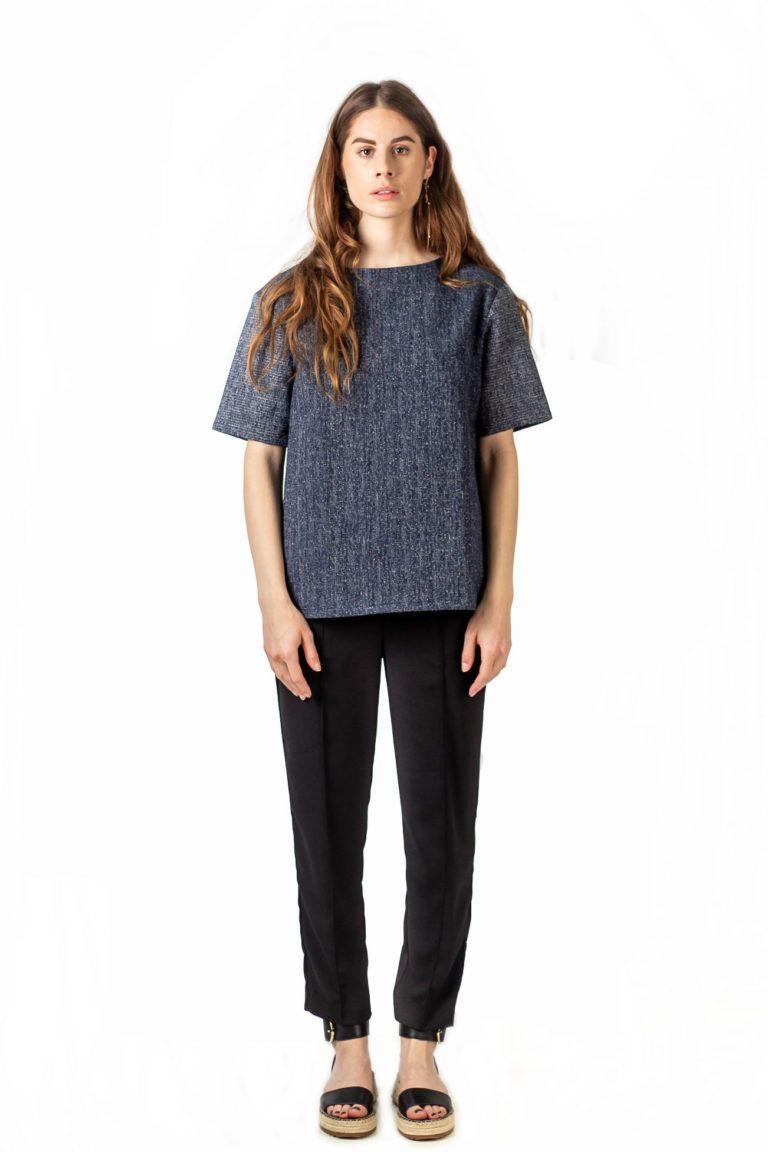 T-shirt unisexe à manches courtes et au style urbain de la marque Antagony.
