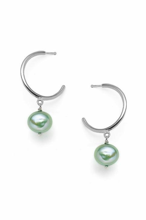 Boucles d'oreilles chics et intemporelles avec perles Béatrice
