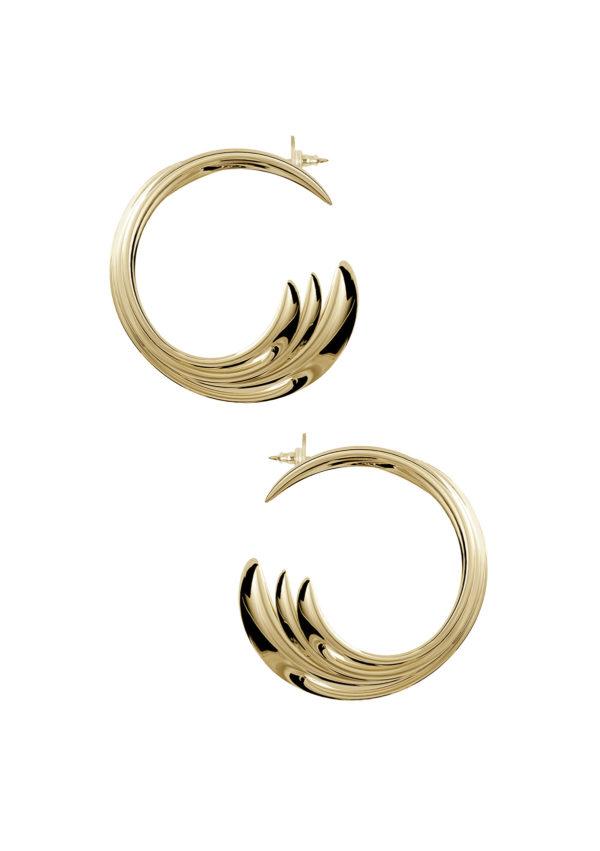 Boucles d'oreilles – En vermeil – Imminent Fantasma | Label AÉ Paris