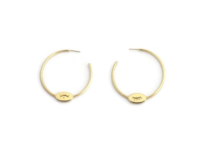 Boucles d'oreilles Houria 3-Houria 3 earrings-Boucles d'oreilles Houria 3 -Houria 3 earrings-Boucles d'oreilles Houria -crerateur-bijou-affaires-etrangeres-creoles-creation-bijou