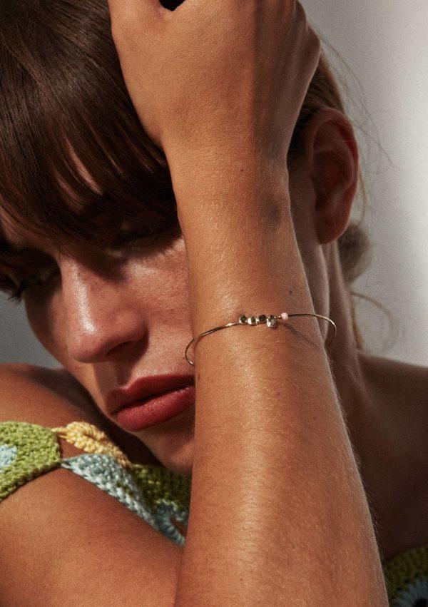 Bracelet fin cinq gales