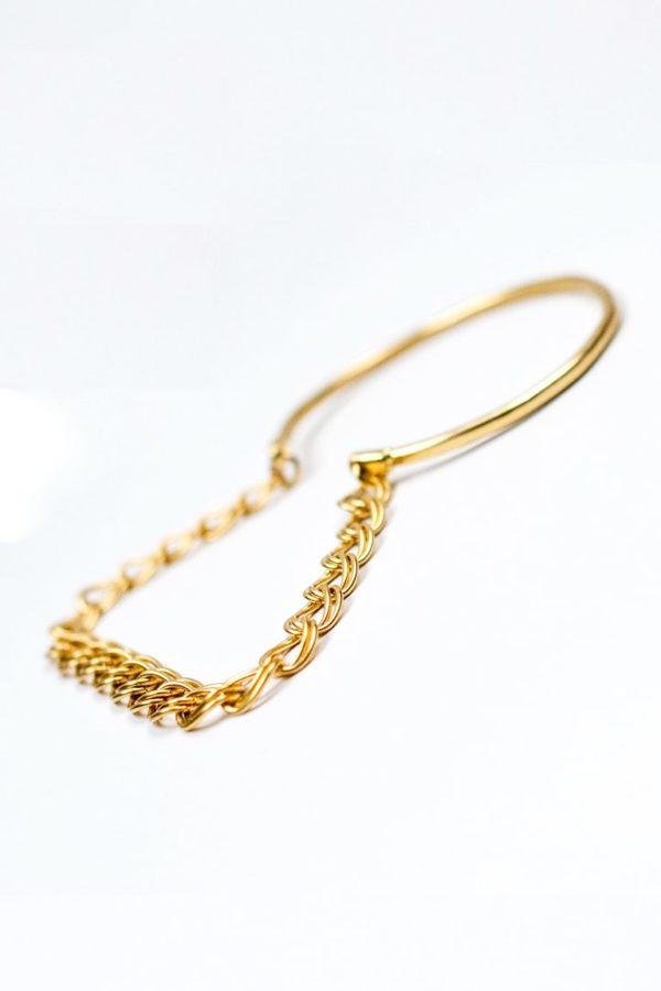 Bracelet Le jonc wave détail