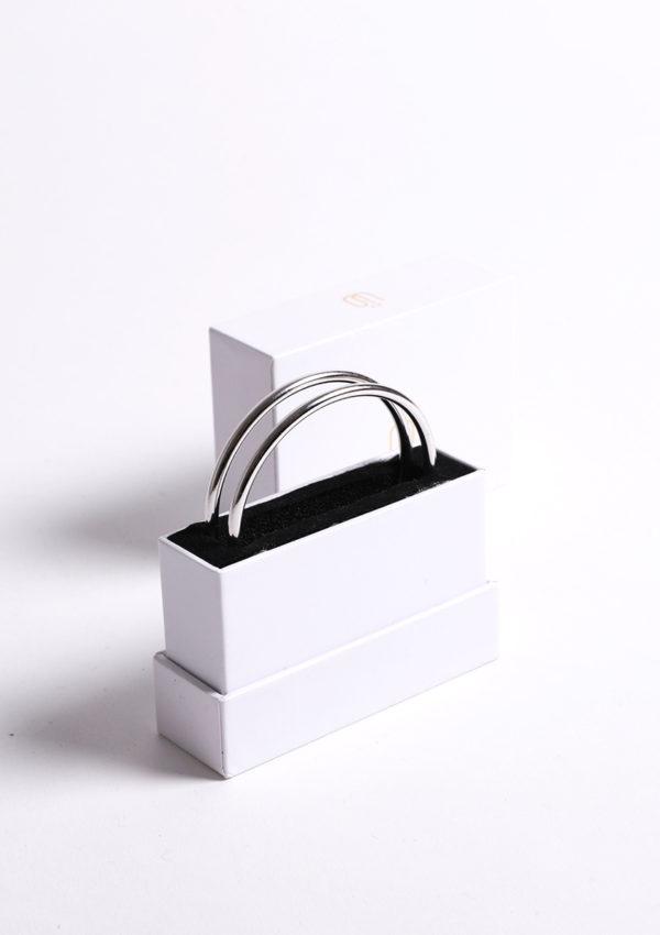 bracelet réversible Homme Origine I argent 925 I Packshot 2 I Mayrena I Label AÉ Paris