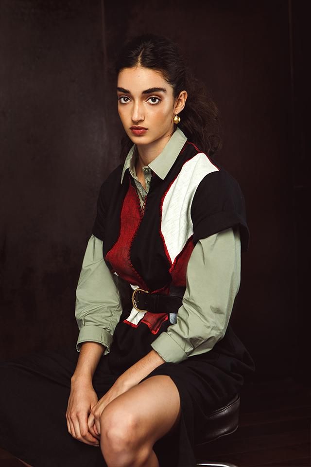 Robe caftan de chez Leila Bousseta
