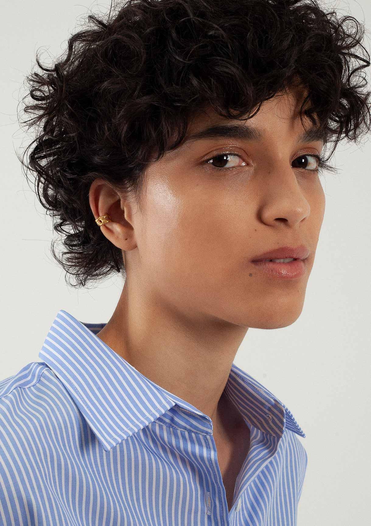 Manchette d'oreille organic fait main handmade bresma Affaires Étrangères Paris